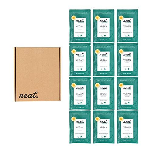 NEAT NUTRITION Vegan Protein Powder from Hemp & Pea 12 Sachets (Vanilla)