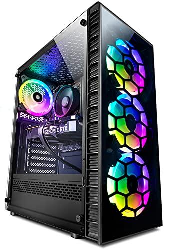 Vibox IV-47 Gaming PC - 6-Core Ryzen Processor - RTX 2060 6Gb Tarjeta Grafica - 16Gb RAM - 1TB NVMe M.2 SSD - Windows 10 - WiFi