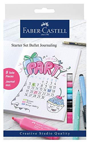 Faber-Castell 267125 Starter Set Bullet Journaling, 9 teilig, Mehrfarbig