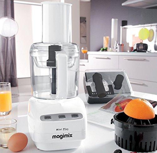 Magimix Mini Plus 400W 1.7L Blanco - Robot de cocina (1,7 L, Blanco, Botones, 400 W, 370 mm, 210 mm): Amazon.es: Hogar