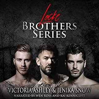 Locke Brothers Series (Books 1-3) audiobook cover art