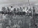 HappyFans Almuerzo sobre un Rascacielos en Nueva, Aprox 1932 Póster Print, 92 x 61