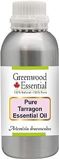 Greenwood Essential Pure Tarragon Essential Oil (Artemisia dracunculus) 100% Natural Therapeutic Grade Steam Distilled 630ml (21.3 oz)