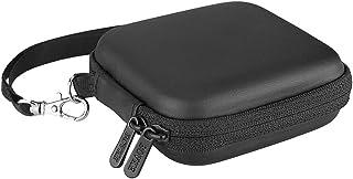 BOVKE Carrying Case for Samsung t3t5ポータブルSSD 250GB 500GB 1tb 2tb USB 3.0外付けSSD Solid Stateハードドライブ耐衝撃ストレージ旅行ケースバッグ、ブラック A1A34M1