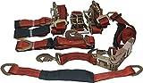 4 Axle Strap Tie Downs 24