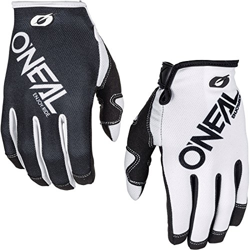 0385-441 - Oneal Mayhem 2018 Two Face Motocross Handschuhe XL Schwarz Weiß