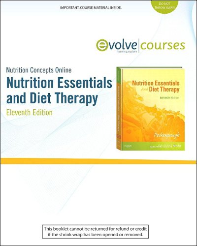 Nutrition Concepts Online for Nutrition Essentials and Diet Therapy (User Guide, Access Code and Textbook Package)