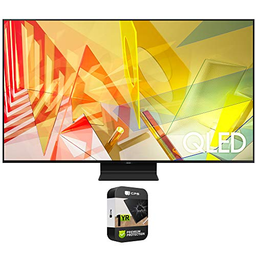 Samsung QN85Q90TAFXZA 85 inch Q90T QLED 4K UHD HDR Smart TV 2020 Model Bundle with Premium 1 Year Extended Protection Plan