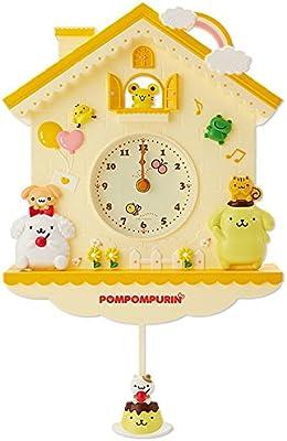 SANRIO Pompompurin Wall Clock: Pendulum