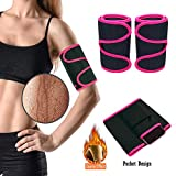 XIRGS Arm Trimmers, 2020 Newest Zipper Pocket Pair Weight Loss Slimmer Wraps