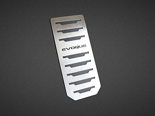 Reposapiés De Acero para 2011-2018 Evoque - 1 Pieza Placa Inox Metal Pedal Cepillado Interior Personalizados Hechos a Medida Deportivo Tuning