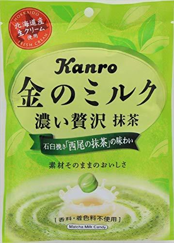 カンロ『金のミルクキャンディ抹茶』