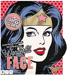 Soap & Glory Wonder Woman Wonderful Face Gift Set NEW
