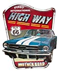 Cartel de Chapa el Mural Ruta 66...