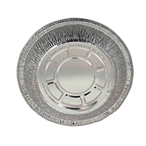 "Butterme Einweg 9""Aluminium Zinn Platten Folien Torten Wannen für Pizza Torten Törtchen Quiche (Packung mit 20 Stück)"