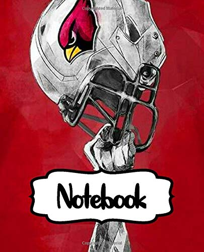 Notebook: The Metro Phoenix Team Sport Match Arizona Cardinals Football Club Quote Taking Notes,  for Teens & Children Soft Cover College Ruled Lined Pages Book 7.5 x 9.25 Inches 110 Pages