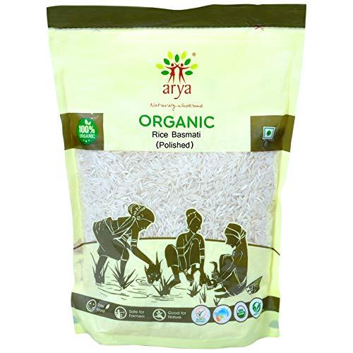 Arya Farm Without Chemicals Pesticides Preservatives Basmati Rice 2kg (70.54 OZ )