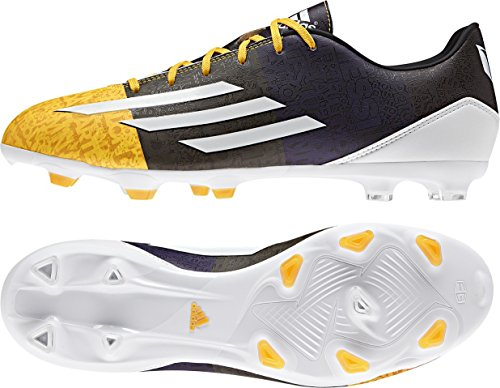 adidas Herren F10 Fg Messi Fußballschuhe, Solar Gold FTWR White Earth Green S13, 42 EU