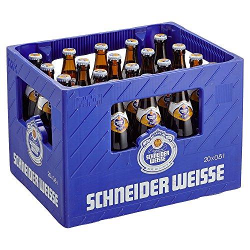 Schneider Weisse Original Weizenbier MEHRWEG, (20 x 0,5 l)