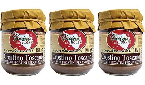 Crostino Toscano - 180g x 3 Vasetti