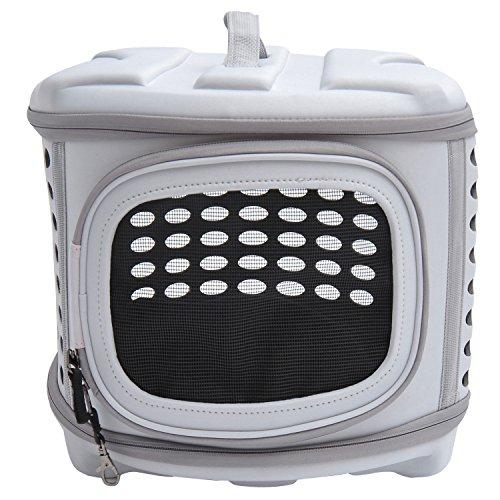 PawHut D1-0166 Transporttasche für Tiere, lichtgrau - 4