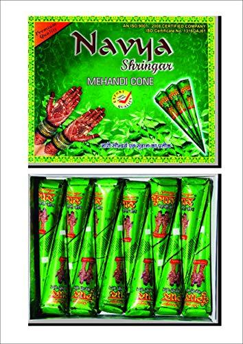 Navya Mehndi - 12 tatuaggi temporanei organici per il corpo