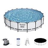 Bestway Steel Pro MAX 18' x 48'/5.49m x 1.22m Pool Set