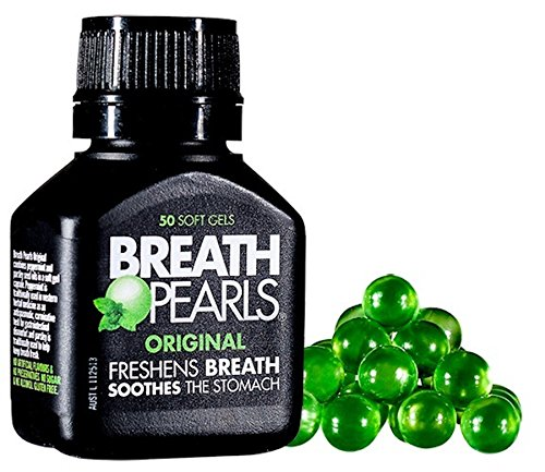 Breath Pearls Original Freshens Breath (50 softgels)
