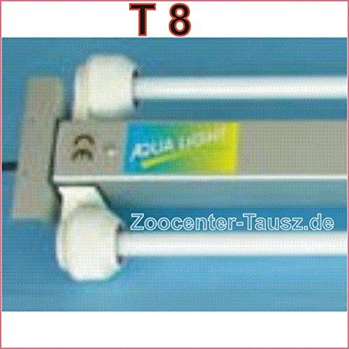 TAB ALU- Leuchtbalken Einbauleuchte 2x30 Watt für T8-26mm-Röhren spritzwasserdicht-IP67