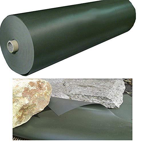 PVC Teichfolie 8 x 8 m 1 mm Oliv Koiteich Folie Teich Schwimmteich 5,79 Euro / m²