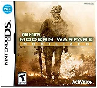 New Activision Blizzard Call Of Duty: Modern Warfare: Mobilized First Person Shooter Nintendo Ds by Activision