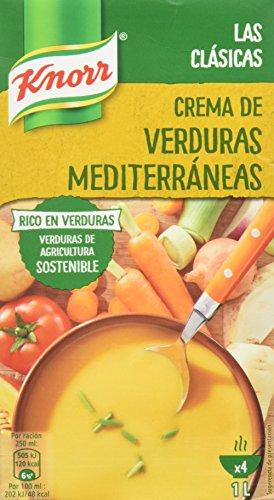 Knorr - Crema Verduras Mediterráneas 1000 ml