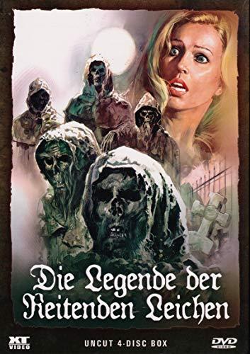 DIE LEGENDE DER REITENDEN LEICHEN - DVD BOX im Schuber - Teil 1 + 2 + 3 + 4 uncut [DVD]