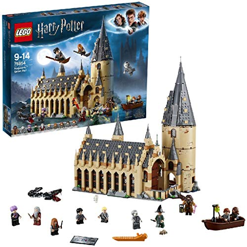 Lego - Harry Potter La Sala Grande di Hogwarts, con 10 Minifigure Della Serie, Set di Costruzioni per Ragazzi 9 - 14 Anni,75954