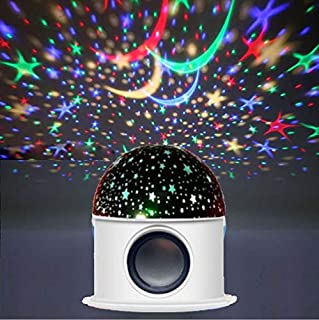 Night Light Moon Star Bluetooth Star Night Light Projector 360 Degree Rotation Unique Best Gifts for Kids for girl Birthda...