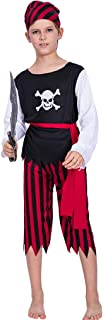 Children's Pirate Costume Kids Halloween Girls Costumes Boys Dress Up Pirate Suit - Funny Cosplay Party