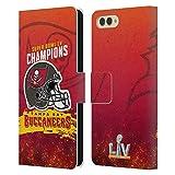 Head Case Designs Officiel NFL Tampa Bay Buccaneers Chiefs Casque 2021 Super Bowl LV Champions Coque...