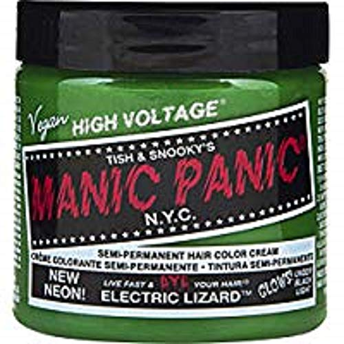 MANIC PANIC CLASSIC NEON ELECTRIC LIZARD