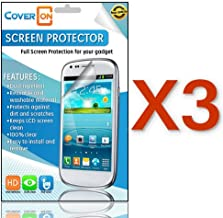 CoverON 3 Pack Clear Anti-Glare LCD Screen Protector Shield for HTC ONE M7 [WCP792]
