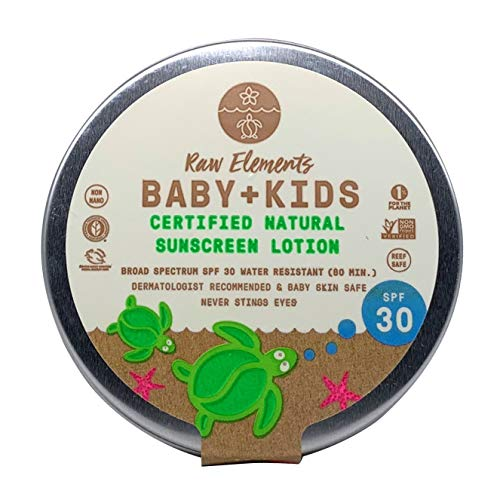 Raw Elements Baby + Kids Organic Sunscreen