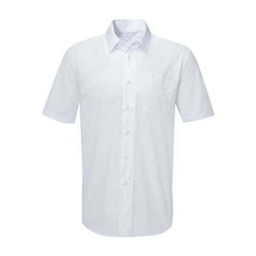 15d7a396bc1 Classic Mens Short Sleeve Easy Care Formal Shirts
