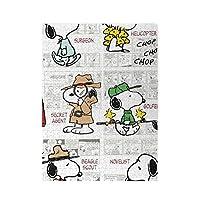 Snoopyスヌーピー (54) マイクロピース 500ピース ジグソーパズル 書架-木製パズル 絵画 大人 向け(6歳以上が適しています)(52.2x38.5cm)