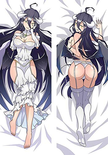 Tamengi Anime Body Pillow, Anime dakimakura, Dakimakura Body Pillow, Body Pillow, Dakimakura Albedo, Dakimakura Pillow, Anime Pillowcase 20x54 inch