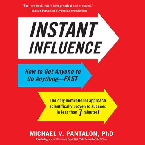 Instant Influence audiobook cover art