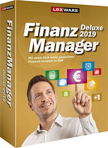 Lexware FinanzManager Deluxe 2019 Box|Einfache Buchhaltungs-Software für private Finanzen und Wertpapier-Handel|Kompatibel mit Windows 7 oder aktueller