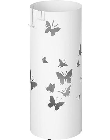 Colore : Nero XINGWEN portaombrelli Umbrella Storage Bucket Home Lobby Portaombrelli Multifunzionale
