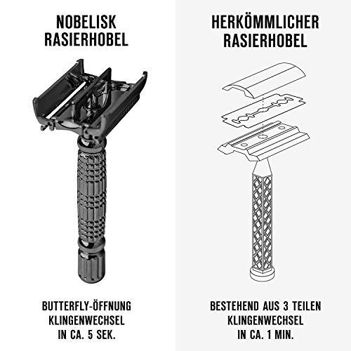 Nobelisk Premium Rasierhobel - 4