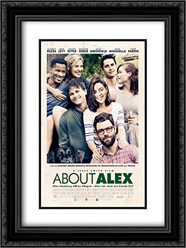 About Alex 18x24 Double Matted Black Ornate Framed Movie Poster Art Print