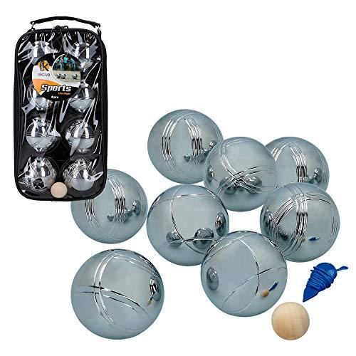 Aktive 54037 - Juego de petanca profesional 8 bolas Sports