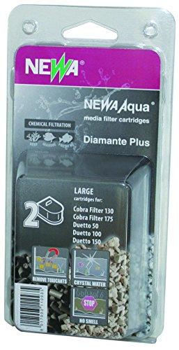Newa Diamante Plus, Cartuccia ricambio filtro Cobra 130 175 Duetto 50 100 150, Carbone